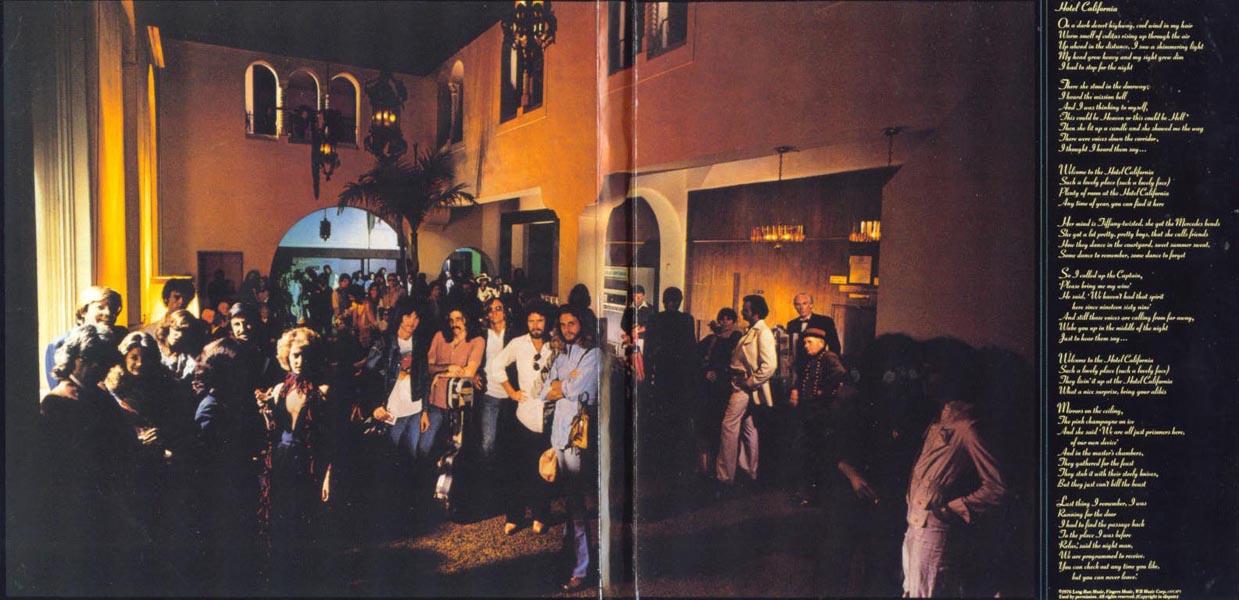Cover Art Hotel California Eagles